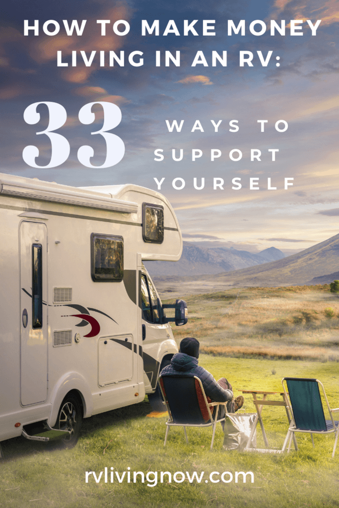 How to make money living in an RV_