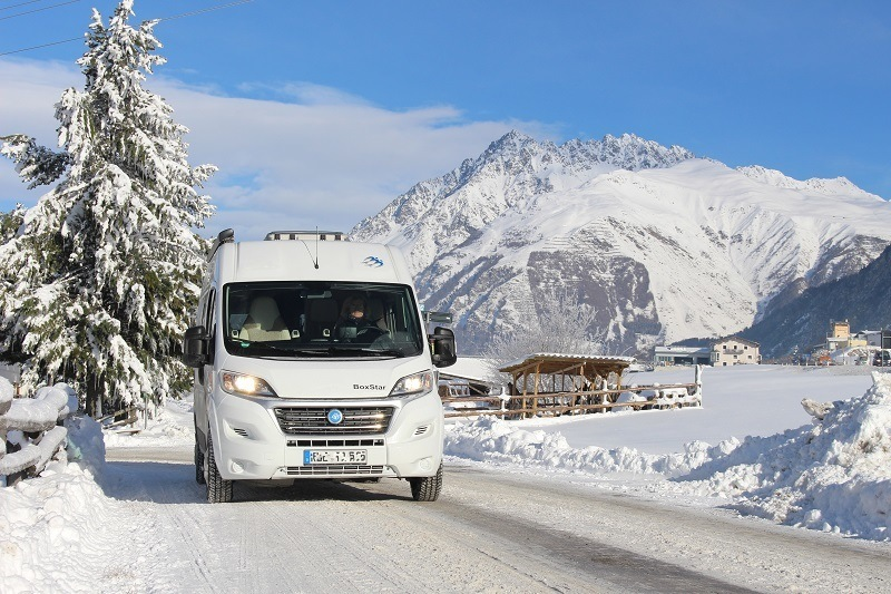 Can You Use an RV in the Winter